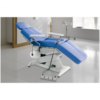 Lemi med elektrinis medicininės paskirties krėslas