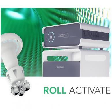Zionic - RF termoliftingo ir rollactive mechaninio masažo aparatas